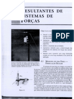 Cap. 4 - RESULTANTES DE SISTEMAS DE FORÇAS