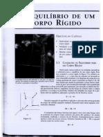 Cap. 5 - EQUILÍBRIO DE UM CORPO RÍGIDO