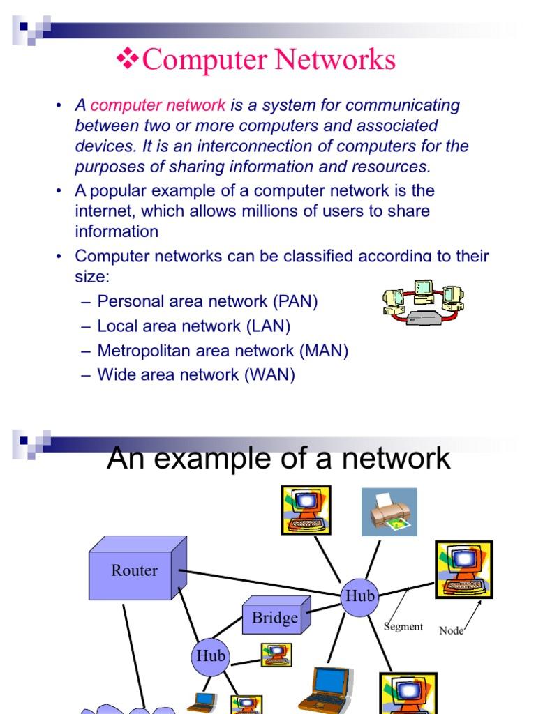 metropolitan area network example
