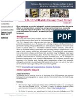 DHS Report on Occupy Wall Street