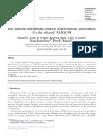 Dejian Fu et al- The portable atmospheric research interferometric spectrometer for the infrared, PARIS-IR