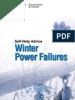 General - Winter Power Failure