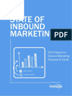 The 2012 State of inbound marketing (Hubspot) -Feb12