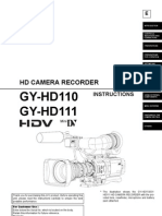JVC Camera Manuel