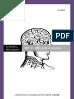 A2 Edexcel Psychology - Module 4