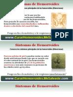 Hemorroides Sintomas y Tratamiento [Almorranas] - Como Curar las Hemorroides