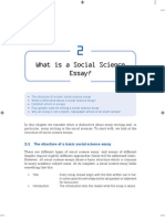 Escribir Ensayos en Ciencias Sociales
