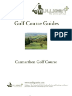 Carmarthen Golf Course Review