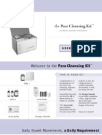 Parasite Cleansing Kit User Guide