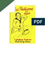 Parkinson C. Northcote - Prawo Pani Parkinson - 1970 (Zorg)