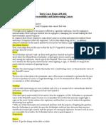 Torts Case Briefs Page 245-282