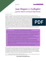 Messaging Memo-Magner v Gallagher
