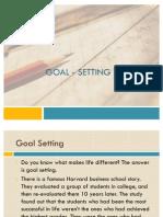 3.Goal - Setting