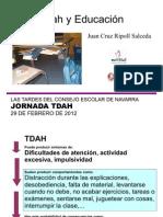 Tdah y educación - presentación