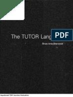 The TUTOR Language 1978 Ocr