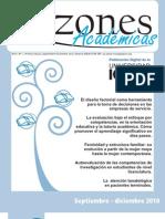 razones academicas No.1 [2010]