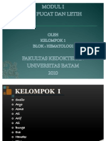 Modul 1 Kelompok 1 Blok Hematologi