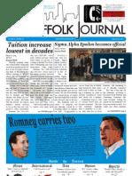 The Suffolk Journal 2/29/2012