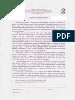 Ensino Religioso Na EC407Norte, circular e carta resposta.