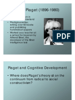 Piaget Lecture