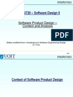 3 Software Product Design Context Ch3