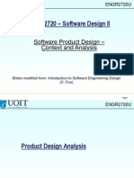 4 Software Product Design Analysis Ch4