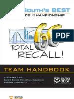 2010 South's Team Handbook
