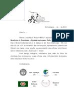 Modelo de Convite para o III EBDRC
