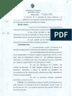 Resolucion Pesca Artesanal 12 de Noviembre de 2008