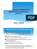 The Advantages and Benefits of ELMO CRS ( R)