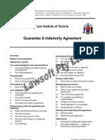 Guarantee & Indemnity Agreement