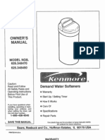Water Softener Manual