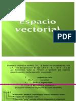 Expo Espacio Vectorial