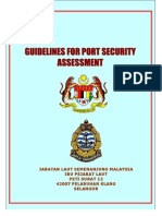 Guideline for Security Assessment