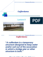 Design of Cofferdam