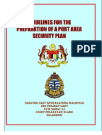 Guideline Preparation of Port Area Security Plan