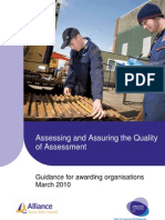 Assessing and Quality Assuring Assessment Guidance Final April10 v1