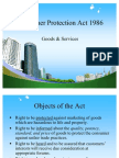 Consumer Protection Act 1986 PPT @ BEC DOMS