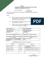 Sample Form a Corruption Commission