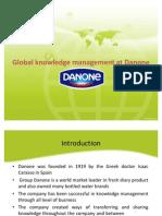 Presentation-Global Knowledge Management at Danone