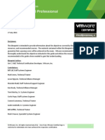 VCP410 Exam Blueprint Guide 1.9.2_July_27_2011