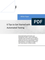 6 Tips for Automated Test