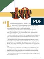10 Quality Basics