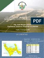 Producción de la agroexportación en el ámbito de Chavimochic