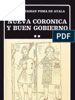 Nueva Coronica 2 - Guaman Poma de Ayala