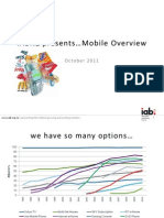 IAB NZ Mobile Overview Oct 2011