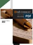 GE Consult Company Profile 2012