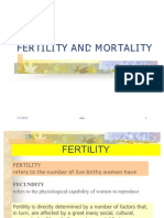 1. Fertility and Mortality (9 Jan 07)
