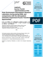 D. Fu et al- Simultaneous atmospheric measurements using two Fourier transform infrared spectrometers at the Polar Environment Atmospheric Research Laboratory during spring 2006, and comparisons with the Atmospheric Chemistry Experiment-Fourier Transform Spectrometer