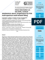 P. Duchatelet et al- An approach to retrieve information on the carbonyl fluoride (COF2) vertical distributions above Jungfraujoch by FTIR multi-spectrum multi-window fitting